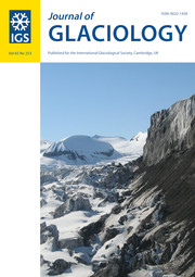 Journal of Glaciology Volume 65 - Issue 253 -