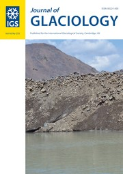 Journal of Glaciology Volume 66 - Issue 255 -