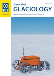Journal of Glaciology Volume 66 - Issue 257 -
