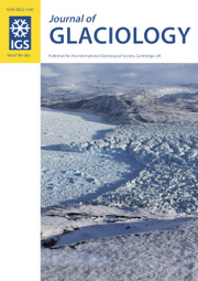 Journal of Glaciology Volume 67 - Issue 262 -