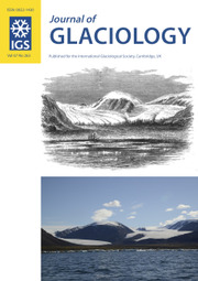 Journal of Glaciology Volume 67 - Issue 263 -