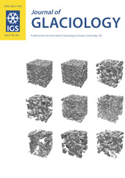 Journal of Glaciology Volume 67 - Issue 265 -
