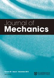 Journal of Mechanics Volume 30 - Issue 6 -