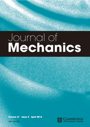 Journal of Mechanics Volume 31 - Issue 2 -