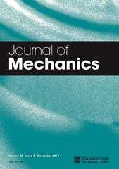 Journal of Mechanics Volume 33 - Issue 6 -