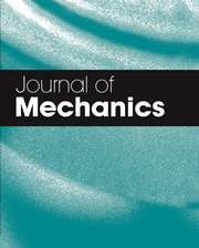 Journal of Mechanics Volume 34 - Issue 2 -