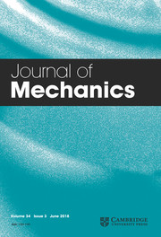 Journal of Mechanics Volume 34 - Issue 3 -