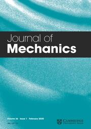 Journal of Mechanics Volume 36 - Issue 1 -