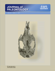 Journal of Paleontology Volume 91 - Issue 2 -