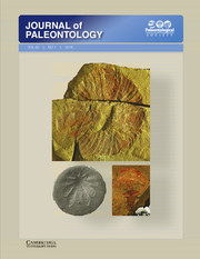 Journal of Paleontology Volume 92 - Special Issue1 -  Cambrian Explosion