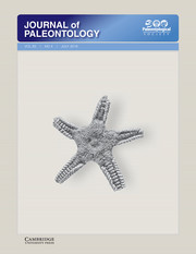 Journal of Paleontology Volume 93 - Issue 4 -