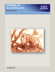 Journal of Paleontology Volume 94 - SupplementS78 -