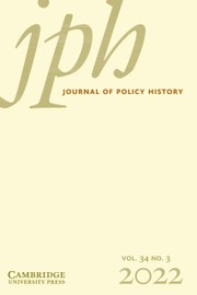 Journal of Policy History