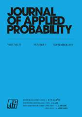 Journal of Applied Probability Volume 53 - Issue 3 -