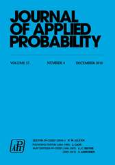 Journal of Applied Probability Volume 53 - Issue 4 -