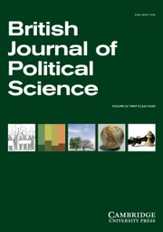 Image result for british journal of political science