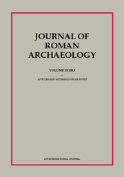 Journal of Roman Archaeology Volume 28 - Issue  -