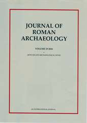 Journal of Roman Archaeology Volume 29 - Issue  -
