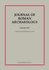 Journal of Roman Archaeology Volume 30 - Issue  -