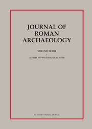 Journal of Roman Archaeology Volume 31 - Issue  -