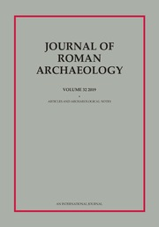 Journal of Roman Archaeology Volume 32 - Issue  -