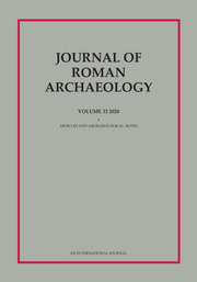 Journal of Roman Archaeology Volume 33 - Issue  -