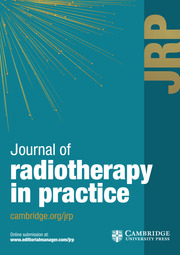 Journal of Radiotherapy in Practice