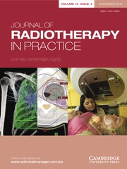 Journal of Radiotherapy in Practice Volume 12 - Issue 4 -