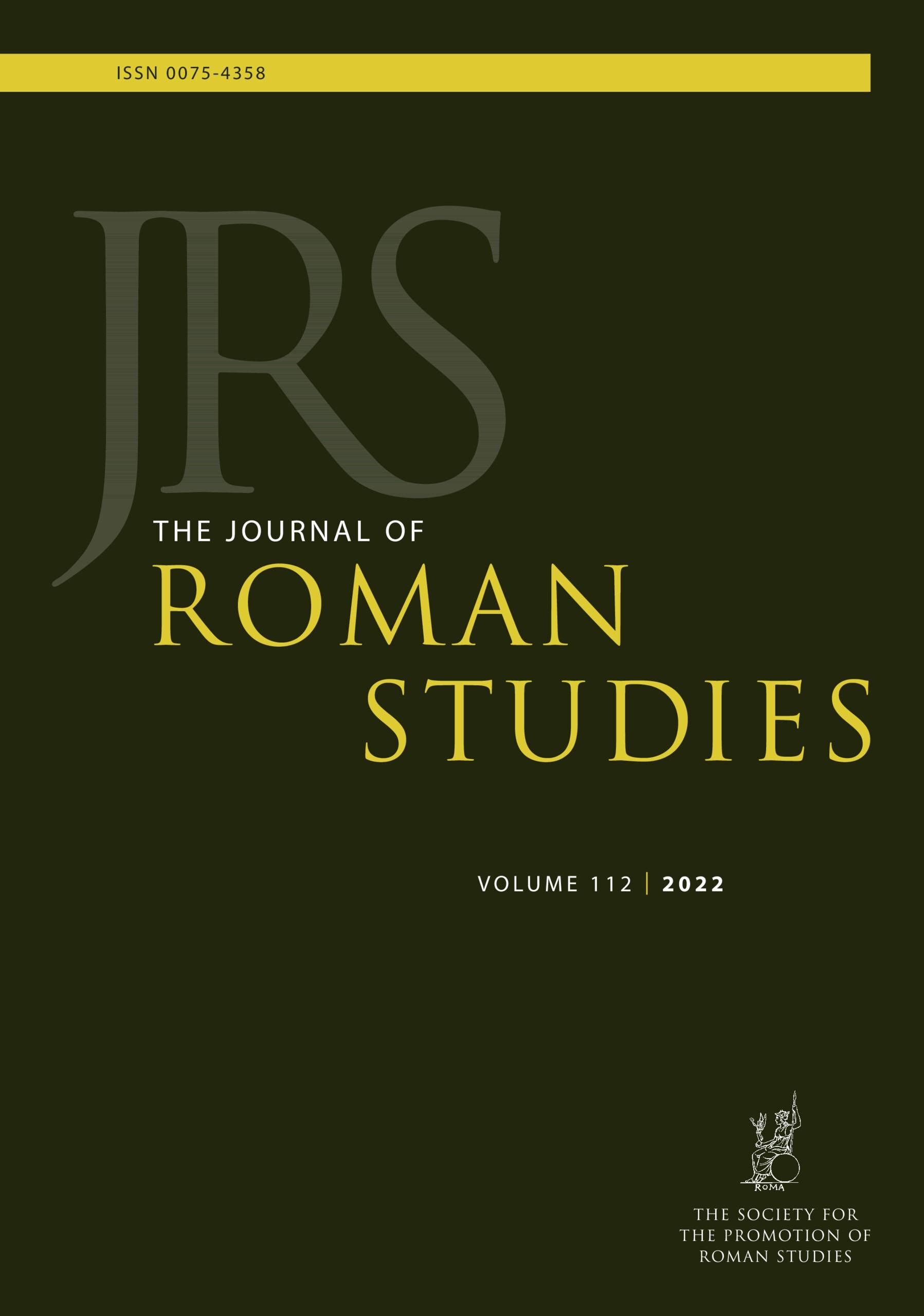 The Journal of Roman Studies