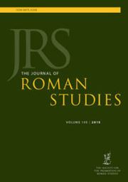 The Journal of Roman Studies Volume 105 - Issue  -