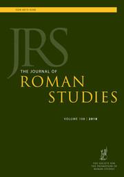 The Journal of Roman Studies Volume 108 - Issue  -