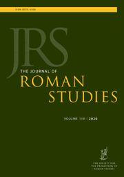 The Journal of Roman Studies Volume 110 - Issue  -
