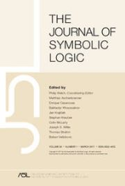 The Journal of Symbolic Logic Volume 82 - Issue 1 -