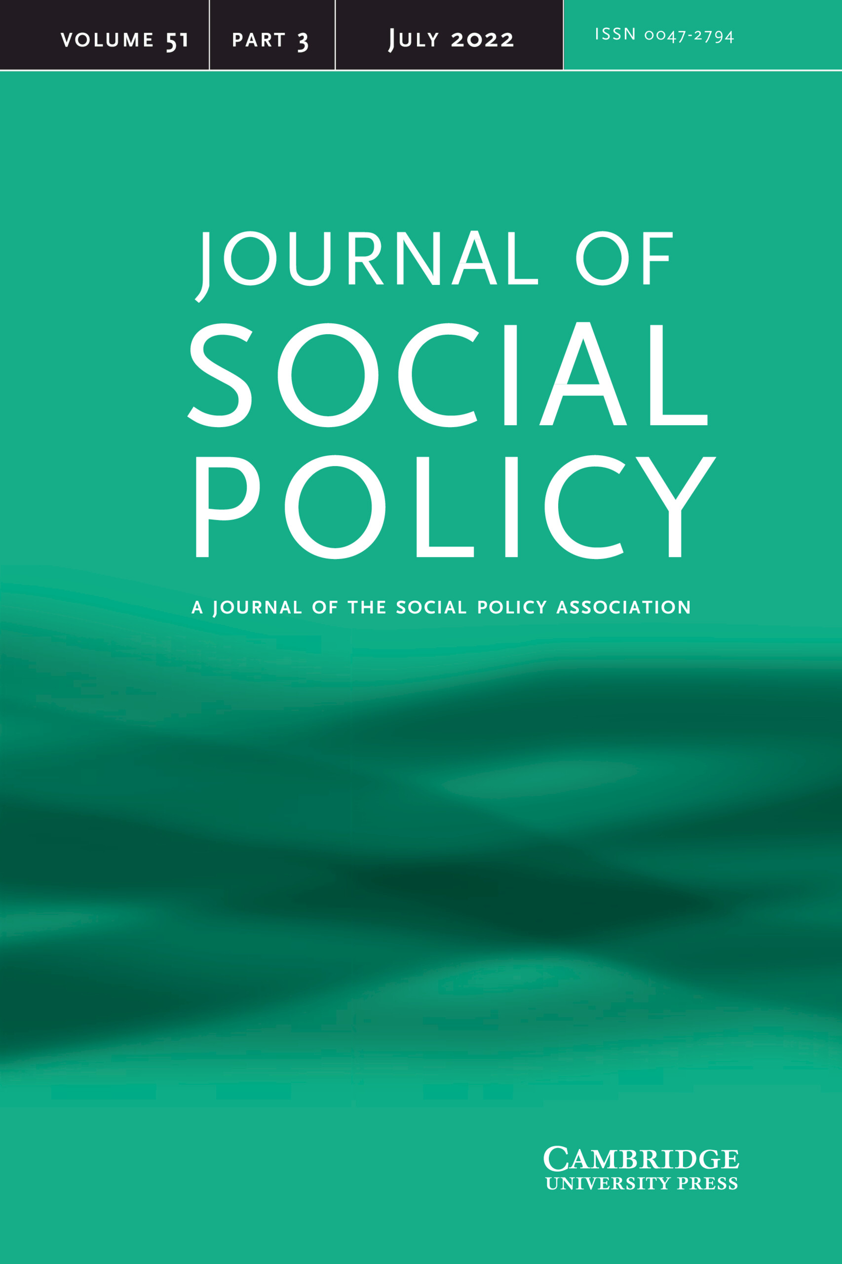 Journal of Social Policy | Cambridge Core