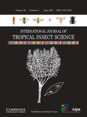 International Journal of Tropical Insect Science Volume 30 - Issue 2 -