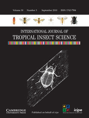 International Journal of Tropical Insect Science Volume 30 - Issue 3 -