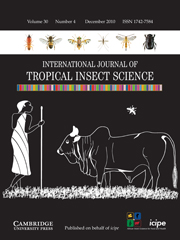 International Journal of Tropical Insect Science Volume 30 - Issue 4 -
