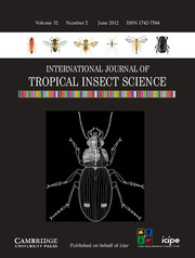 International Journal of Tropical Insect Science Volume 32 - Issue 2 -