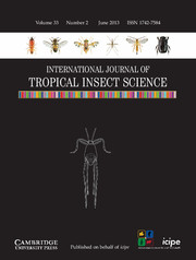International Journal of Tropical Insect Science Volume 33 - Issue 2 -
