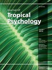 Journal of Tropical Psychology