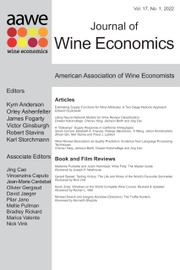 Journal of Wine Economics