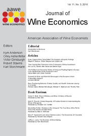 Journal of Wine Economics Volume 11 - Issue 3 -