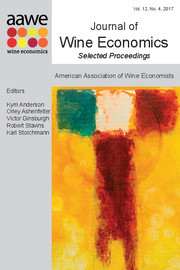 Journal of Wine Economics Volume 12 - Issue 4 -