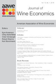 Journal of Wine Economics Volume 13 - Issue 1 -