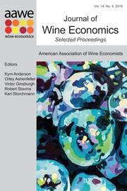 Journal of Wine Economics Volume 14 - Issue 4 -