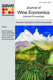Journal of Wine Economics Volume 15 - Issue 4 -