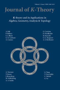 Journal of K-Theory Volume 13 - Issue 2 -