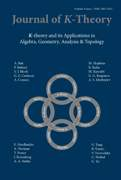 Journal of K-Theory Volume 4 - Issue 1 -