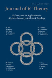 Journal of K-Theory Volume 9 - Issue 3 -