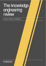 The Knowledge Engineering Review Volume 19 - Issue 3 -